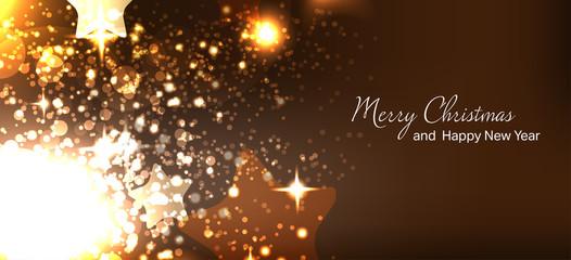 Vector illustration. Christmas card. New year. Winter holidays. Celebration. Xmas