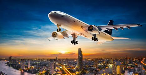 Take off aeroplane Wall mural