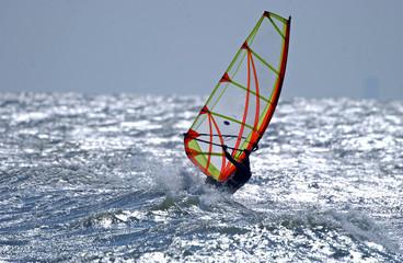 windsurfer Nordsee