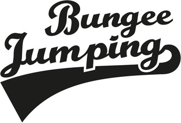 Bungee jumping word