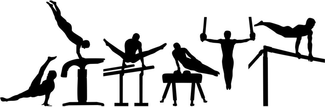 Rhythmic gymnastics pictogram