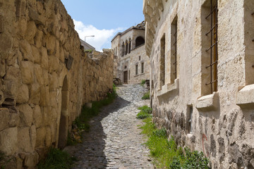 On the slopes of the fortress of Uchisar.