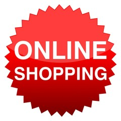 Red button online shopping