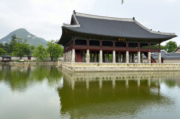 Gyeongbok Palace, Seoul, Korean Republic ..