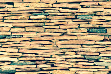 Close up modern pattern of stone wall decorative surfaces
