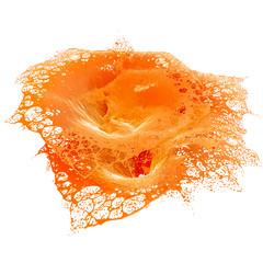 Fresh Orange juice splash