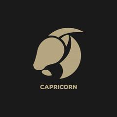 capricorn logo vector