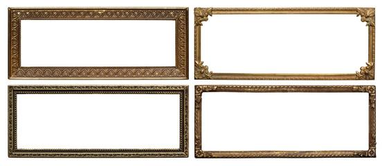 Wall Mural - Ornate metal frames