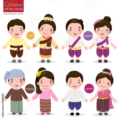 """Malaysian People Clipart """"Children of the ..."""