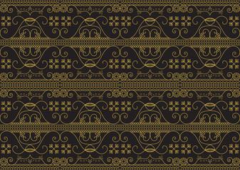 Vector vintage arabic pattern