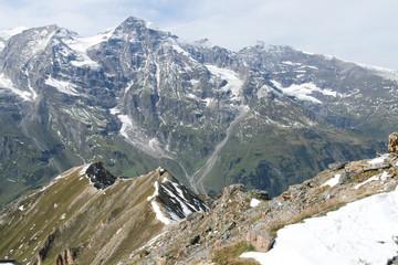Snowcapped mountains, Alps, Austria