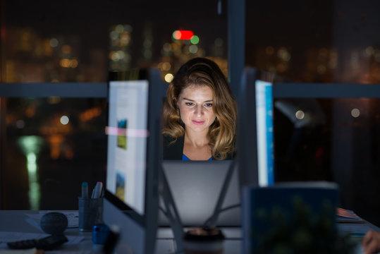 Computing late at night