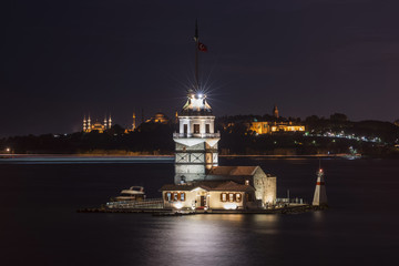 Maiden Tower or Kiz Kulesi Istanbul
