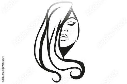 Volto Stilizzato Ragazza Stock Image And Royalty Free Vector Files
