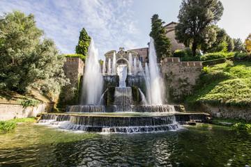 Fontana del Nettuno, Villa d'Este, Tivoli