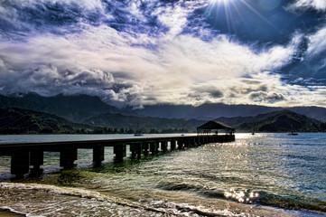 Dreamy Hawaii at Hanalei Bay.