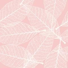 Skeletonized leaves seamless