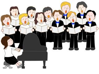 合唱団のコンサート