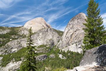 Wall Mural - Hiking Nevada Fall, Yosemite National Park
