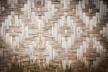 woven texture bamboo old