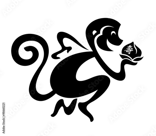 Chinese Zodiac Monkey Chinese New Year Translation Life