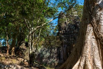 Bayon Temple (Angkor Thom) Siem Reap Cambodia Dec 2015.