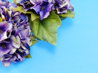 beautiful hydrangea artificial flower bouquet