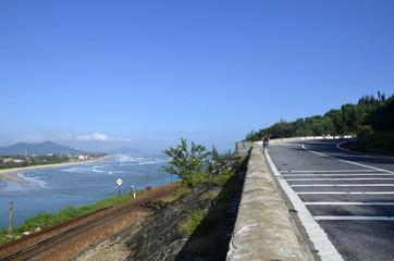 Route d'Hue à Hoi An : Col des nuages