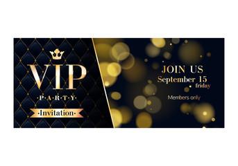 VIP invitation cards premium design templates.
