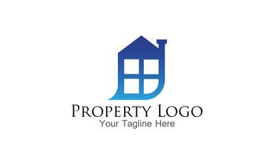 Simple Property Logo Design