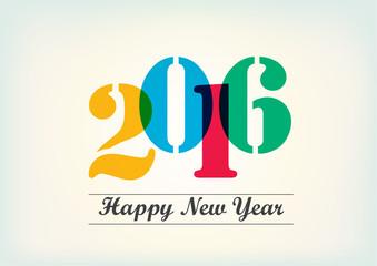 Happy New Year 2015 vector design