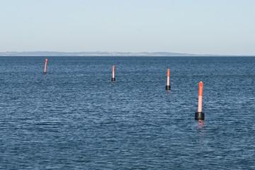 Buoys at the Coast
