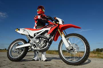 Wall Mural - Motocross rider
