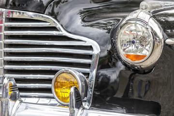 Biberach, Germany, 31 August 2015:: American vintage car, close-