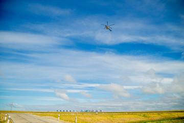 панорама с вертолетной площадки