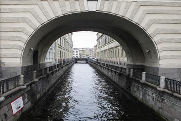 Санкт-Петербург. Зимняя канавка.