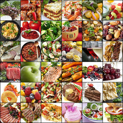 Big Food Collage