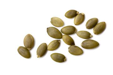 Pumpkin Seeds or Pepitas Isolated