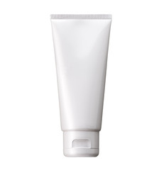 Blank White cosmetic tube pack Of Cream Or Gel package