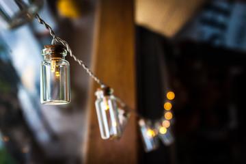 Classic light bulb lamp decor