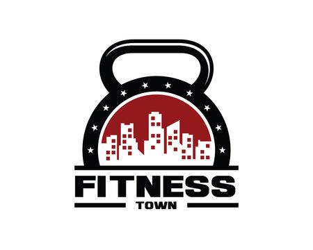 Urban Fitness Town Logo