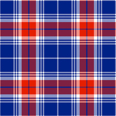 Textured tartan plaid