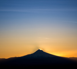 Por do sol na Serra Gaúcha