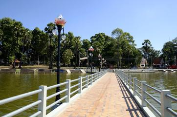 Seepromenade in Ubon, Thailand