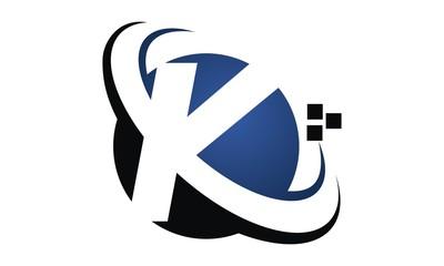 Letter K Modern Logo