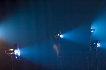 Filmlicht - Scheinwerfer - Lichttechnik - Nebel