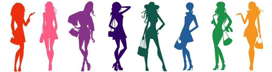 bags female silhouettes