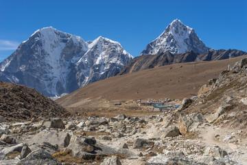 Lobuche village from Everest region