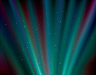 aurora rays background ,  northern lights .