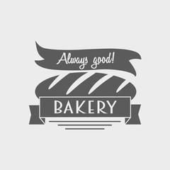 Vintage bakery logo, label or badges design concept